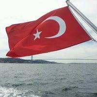 Photo taken at Çengelköy-İstinye  Vapuru by Mehmet D. on 9/16/2013