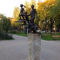 Снимок сделан в Русанівський парк пользователем Vladimir K. 10/7/2013