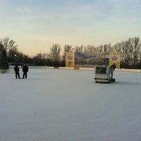 Photo taken at Каток «Новая лига» by Caltrop Н. on 1/2/2013