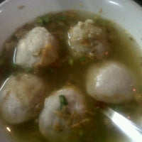 Photo taken at Bakso Gepeng Apotik Rini Rawamangun by vita on 1/25/2013