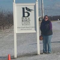 Photo taken at BlackBird Cider Works by Bryan G. on 12/31/2014