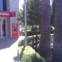 Photo taken at Akbank by Mehmet B. on 6/24/2014