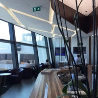 Photo taken at Virgin Australia Lounge by Andy L. on 2/25/2015