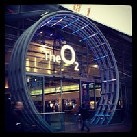 Photo taken at The O2 Arena by Andréia F. on 3/1/2013