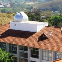 Photo taken at Laboratório Nacional De Astrofisica LNA by Guilherme A. on 2/4/2014