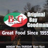 Photo taken at Bay & Goodman Pizza and Panini by Larry P. on 5/27/2014