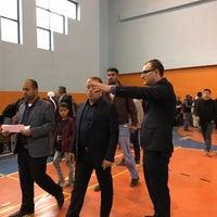 Photo taken at Kapalı Spor Salonu by Ali A. on 11/20/2016