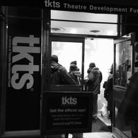 Photo taken at TKTS South Street Seaport by Fabio d. on 12/29/2015