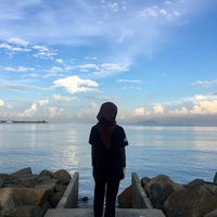 Photo taken at Pontian Sea Side by Zafirah A. on 7/5/2017
