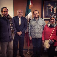 Photo taken at Consulate General of Mexico by Aurelio G. on 12/31/2013