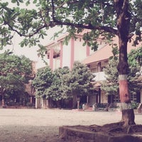 Photo taken at SMA Negeri 1 Jepara by Yustika R. on 11/16/2013