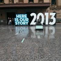 Photo taken at Brisbane City Hall by Jake D. on 4/13/2013