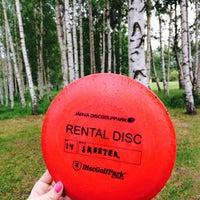 Photo taken at Järva Discgolf Park by Anna F. on 6/22/2014