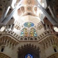 Foto tomada en Cripta de la Sagrada Família por Katya G. el 10/5/2016