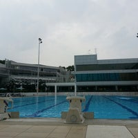 Photo taken at Swimming Pool @ Sports Complex by Nicky W. on 1/26/2014