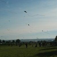 Photo taken at Drachenfest Ostfildern by Michael R. on 10/3/2013