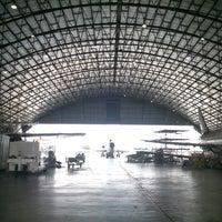 Photo taken at Hangar 75 AIROD by Ab M. on 4/15/2014