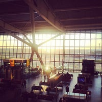 Photo taken at Terminal 5 by Priska on 5/4/2013