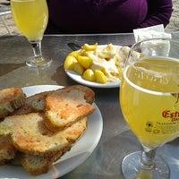 Photo taken at Restaurant Enriqueta by Sandra G. on 3/8/2014