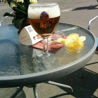 Photo taken at Café De Blauwe Toren by Wim D. on 5/2/2016