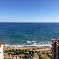 Photo taken at Milenyum Beach Resort by Tarık S. on 11/17/2016
