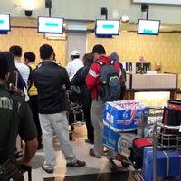 Photo taken at Supadio International Airport (PNK) by MoMo D. on 3/27/2014