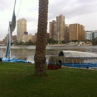 Photo taken at Corniche El Maadi by Zammaz A. on 12/12/2013