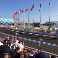 Photo taken at Sochi Autodrom by Alexander P. on 10/12/2014