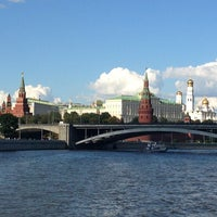 Photo taken at Moskva River by Alexander P. on 8/17/2013