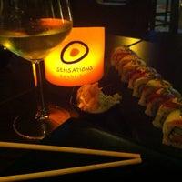Photo taken at Sensations Sushi Marbella by Macarena V. on 8/8/2015