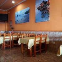 Photo taken at Cafeteria Restaurante Alba by Juan Francisco R. on 11/11/2013