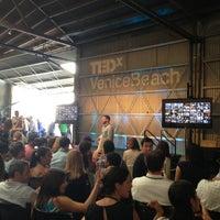 Photo taken at TEDxVeniceBeach by Evan W. on 9/15/2013