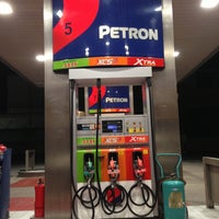 Photo taken at Petron Service Station by Christine T. on 4/10/2013