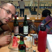Photo taken at Woodlawn Duckpin by Danielle on 7/30/2014