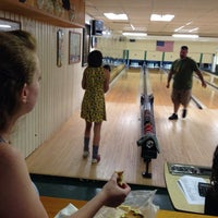Photo taken at Woodlawn Duckpin by Danielle on 8/5/2014