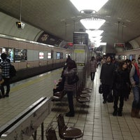 Photo taken at Midosuji Line Shinsaibashi Station (M19) by ElevenColors on 1/20/2013