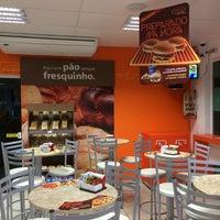 Photo taken at AMPM - Posto Ipiranga by Manoel F. on 6/1/2014