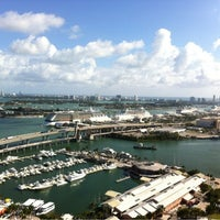 Photo taken at Bayside Marina by Manoel F. on 12/3/2012