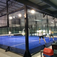 Photo taken at Padel PRO by Deise on 11/2/2013