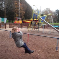 Photo taken at Pontypridd Park by Jonathan G. on 11/24/2013