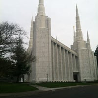 Photo taken at Portland Oregon Temple by Tom P. on 12/28/2012
