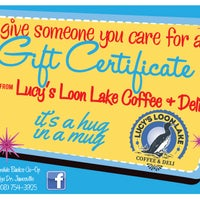 Photo taken at Lucy's Loon Lake Coffee & Deli by Lucy's Loon Lake Coffee & Deli on 9/16/2013