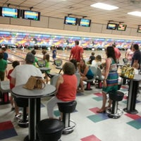 Photo taken at Buffaloe Lanes South Bowling Center by Jessica G. on 6/29/2014