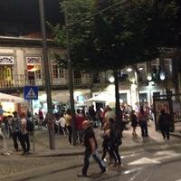 Photo taken at Praça Bar by Martim A. on 10/2/2014