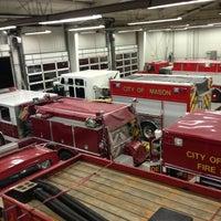 Photo taken at Mason Fire Dept by John S. on 1/19/2013
