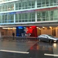 Photo taken at UMP - Union pour un Mouvement Populaire (UMP) by Florent H. on 4/9/2013