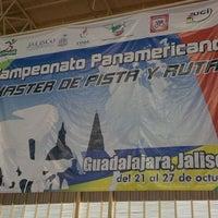 Photo taken at Velódromo Panamericano by Mauricio A. on 10/24/2013