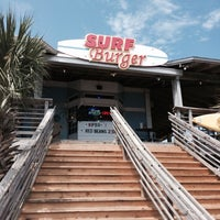 Photo taken at Surf Burger by Betty D. on 5/13/2014