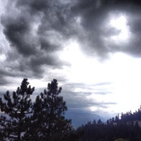 Photo taken at Somewhere In The Mountains by Charles S. on 9/7/2013