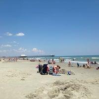 Photo taken at Shore Drive Beach by Lynn N. on 7/29/2014